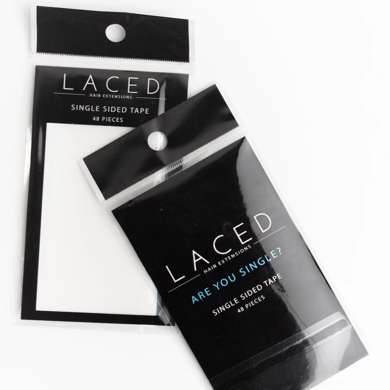 Laced Hair Single-Sided Tape Re-Tabs (for Tape-In Extensions)