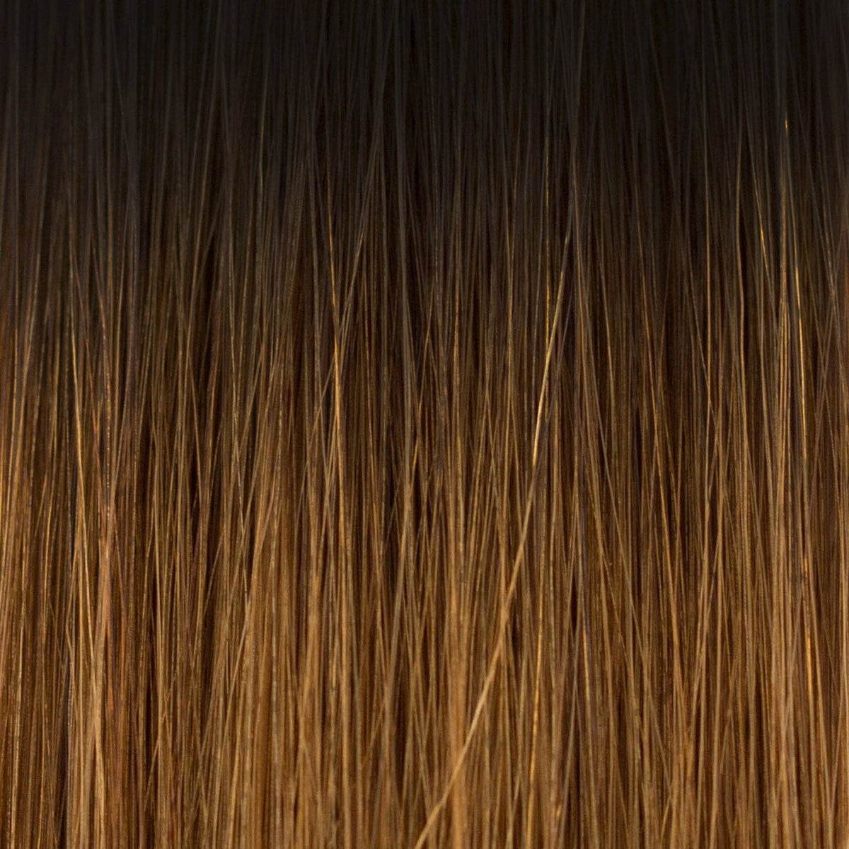 Laced Hair Keratin Bond Extensions Ombré #1B/5 (Caramel Latte)