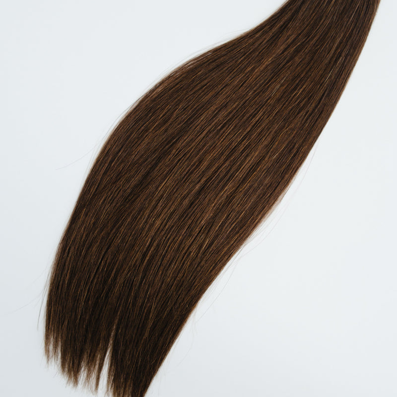 Laced Hair Keratin Bond Extensions #2 (Chocolate)