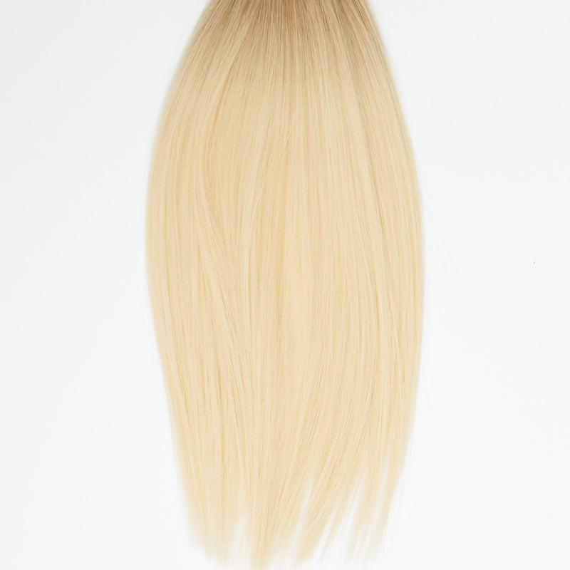 Laced Hair Clip-In Extensions Ombré #8/613