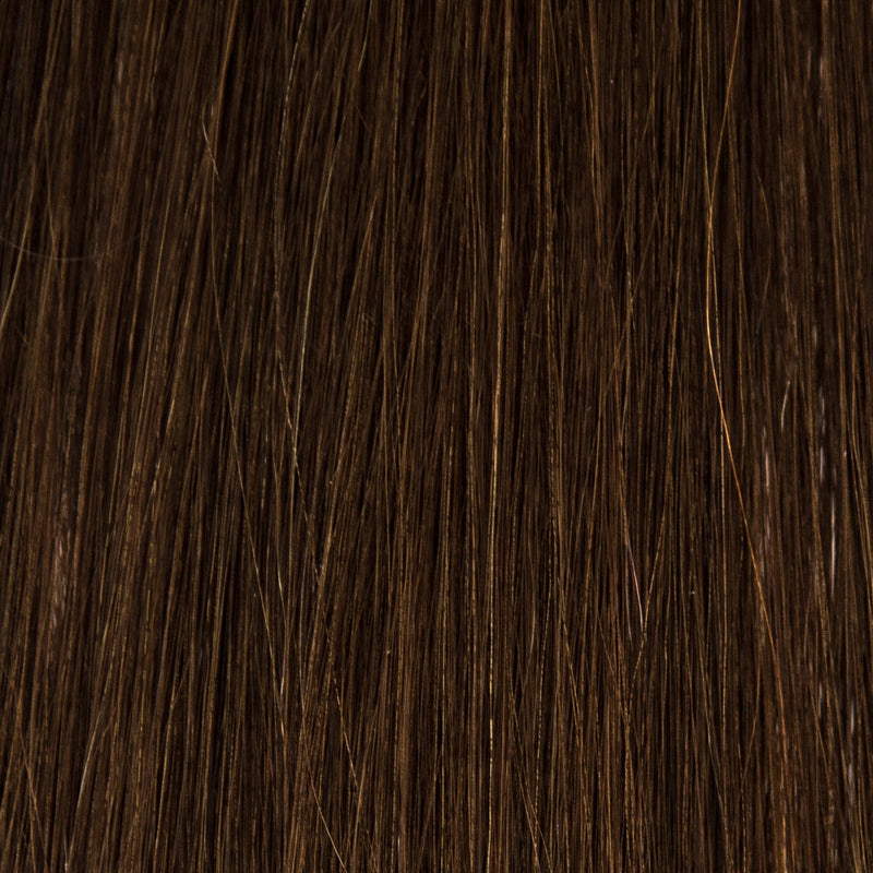 Laced Hair Hand Tied Weft Extensions #2 (Chocolate)
