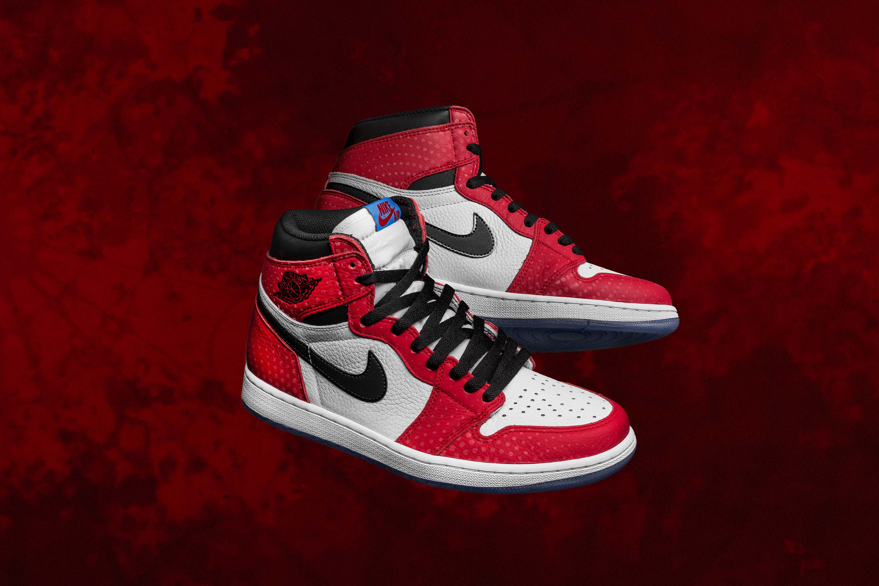 4a2a79489024 ... reduced air jordan celebrates the release of spider man into the spider  verse with a very