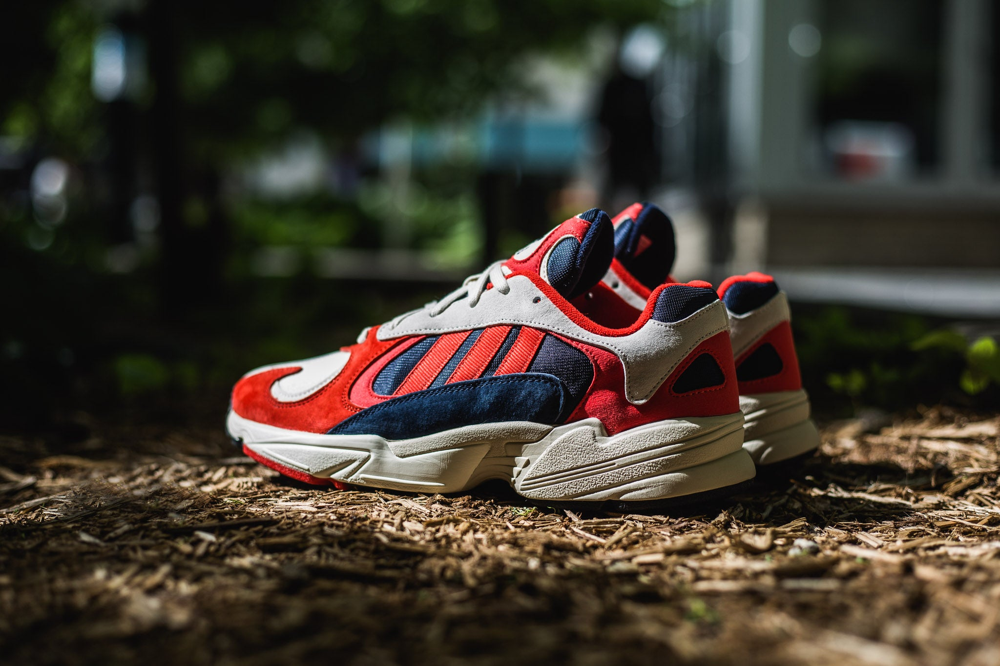 adidas Yung-1 'Orange/Collegiate Navy' 06.21.18