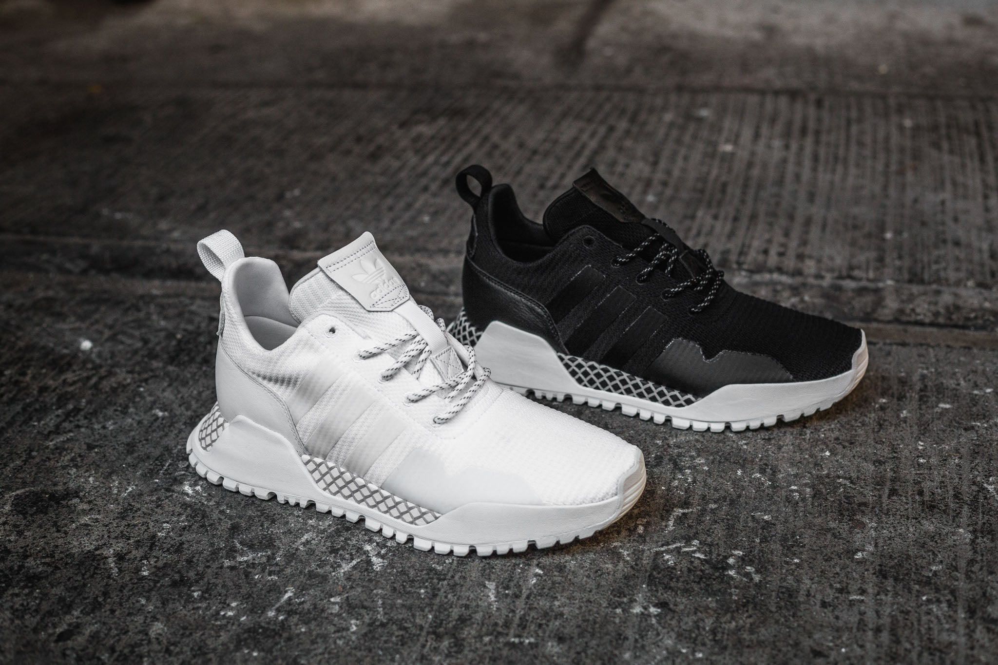 sports shoes 7f02a 3c90c Inspired by the unpredictable weather conditions of winter, adidas  Originals introduces two new silhouettes this adidas Originals Winter AF  1.3 PK  AF 1.4 ...