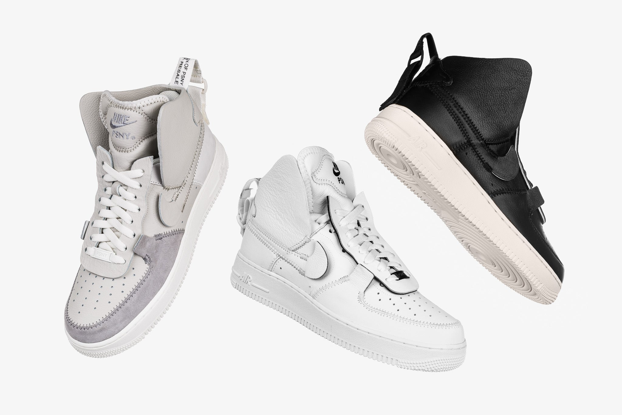 quality design 23071 898d5 PSNY x Air Force 1 HI Collection 09.05.18