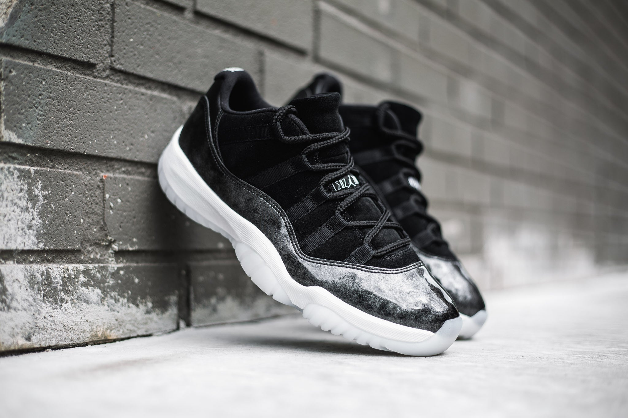 "3eaa1b1928242c The Air Jordan 11 Retro Low ""Barons"" model takes design hints from the  minor league Baseball team Birmingham Barons"