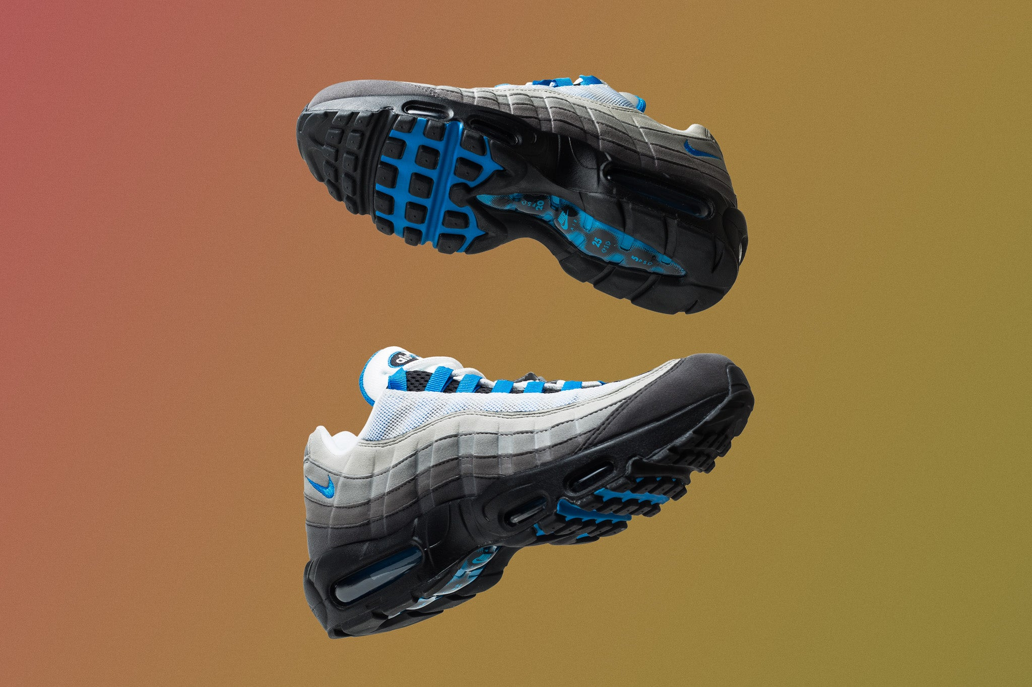"Another OG colourway returns with the Air Max 95 ""Crystal Blue"" rocking the  same grey gradient with crystal blue accents hitting the eyelets c1d1dc4e7494"