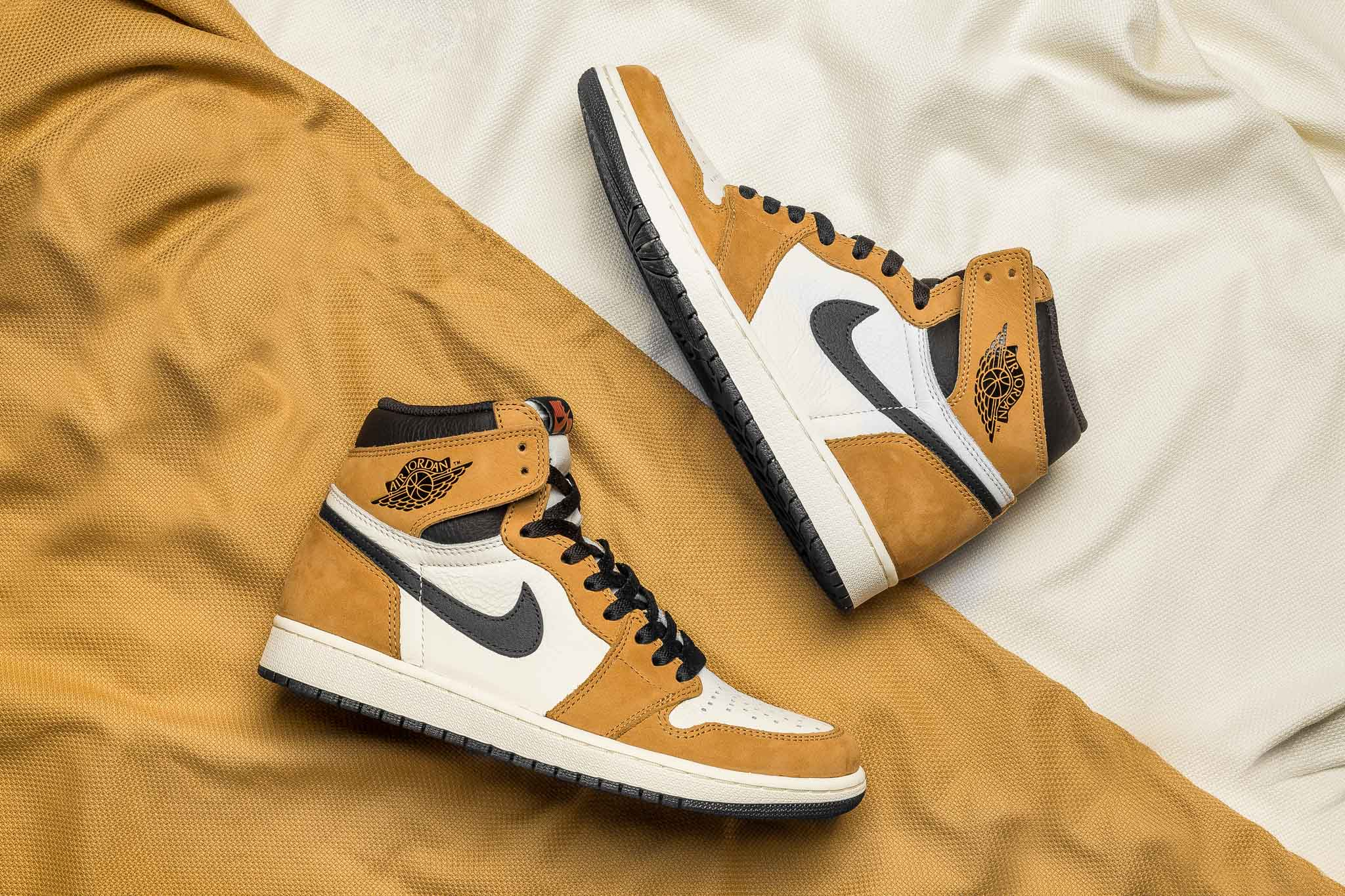 """The Air Jordan 1 Retro High OG """"Rookie of the Year"""" takes us back to when  MJ won the award for rookie of the year for his athletic performance from   84 to   ... f28aa461b"""
