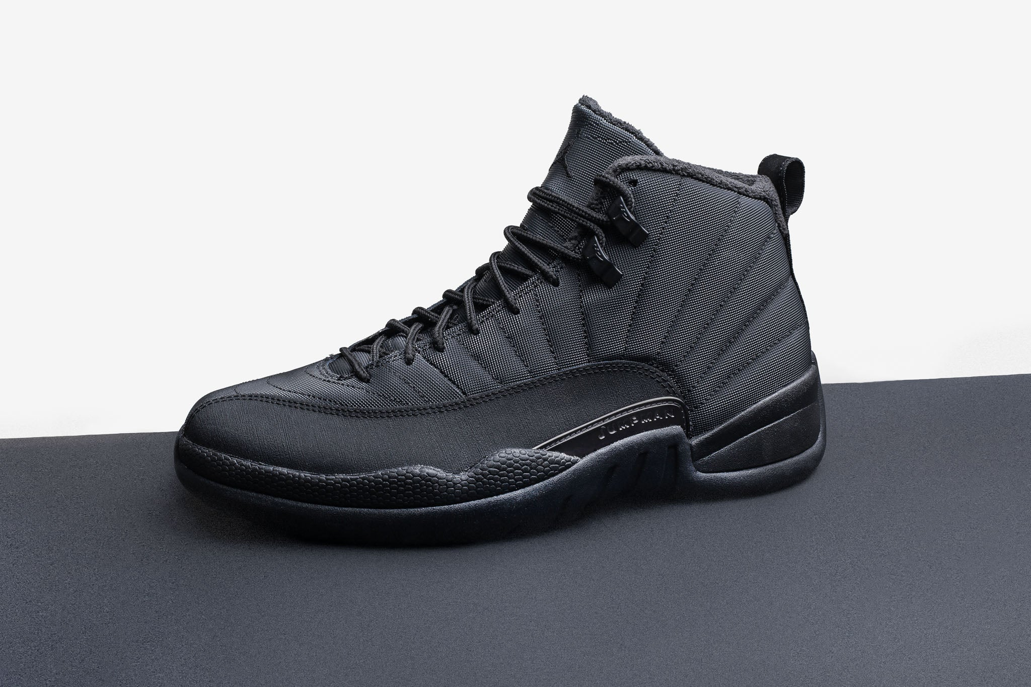 b02940df55c The latest Air Jordan 12 Retro is ready to take on anything winter can  throw back with resilient