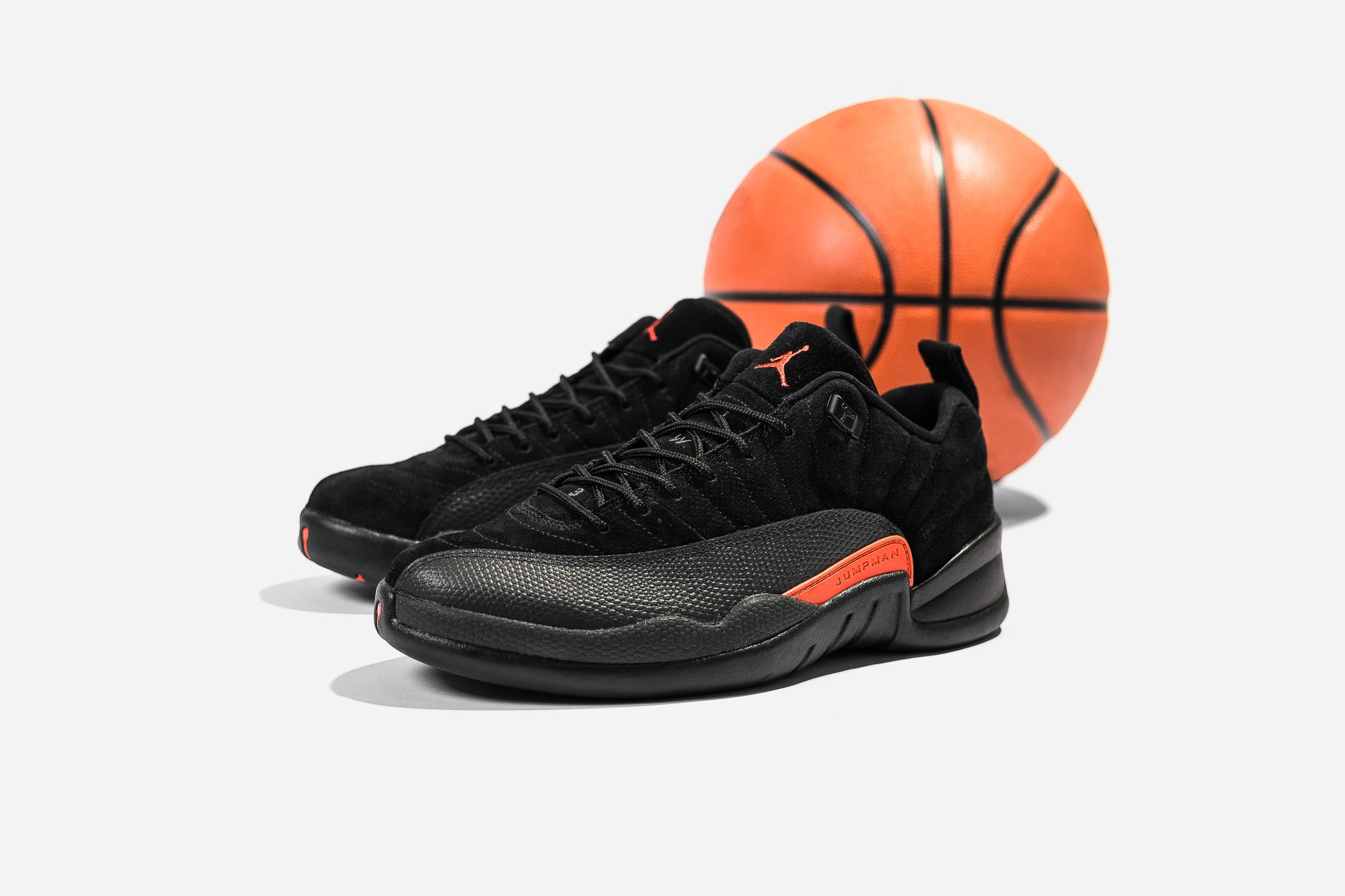 size 40 ff2e0 ebf25 ... ireland the air jordan 12 retro low arrives dressed in black athracite  and max orange in