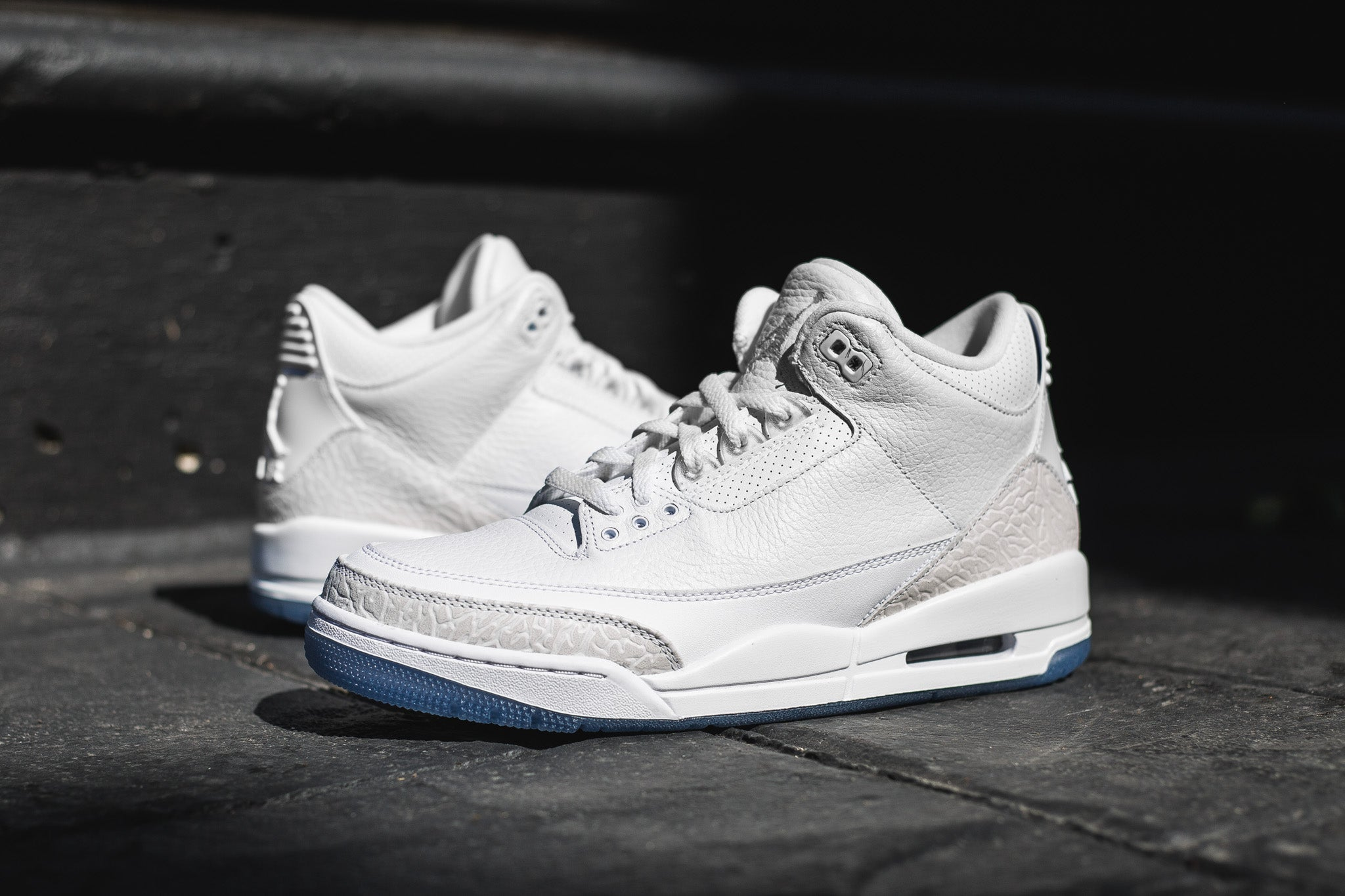 429a9eec7bae04 ... best price the air jordan 3 retro pure white is one of the cleanest  jumpman silhouettes