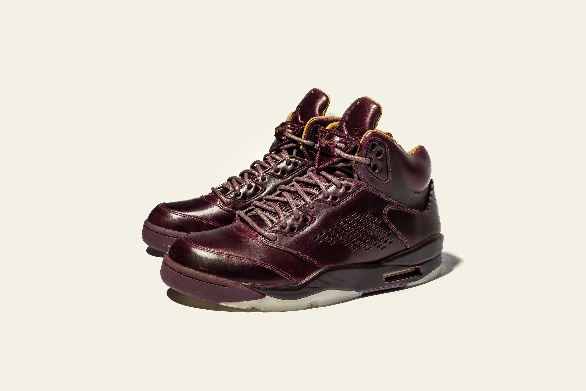 outlet store 5f070 bbc34 good home air jordan 5 ls burgundy a48bc 26911  wholesale the air jordan 5  prm bordeaux pulls out all the stops when it comes to