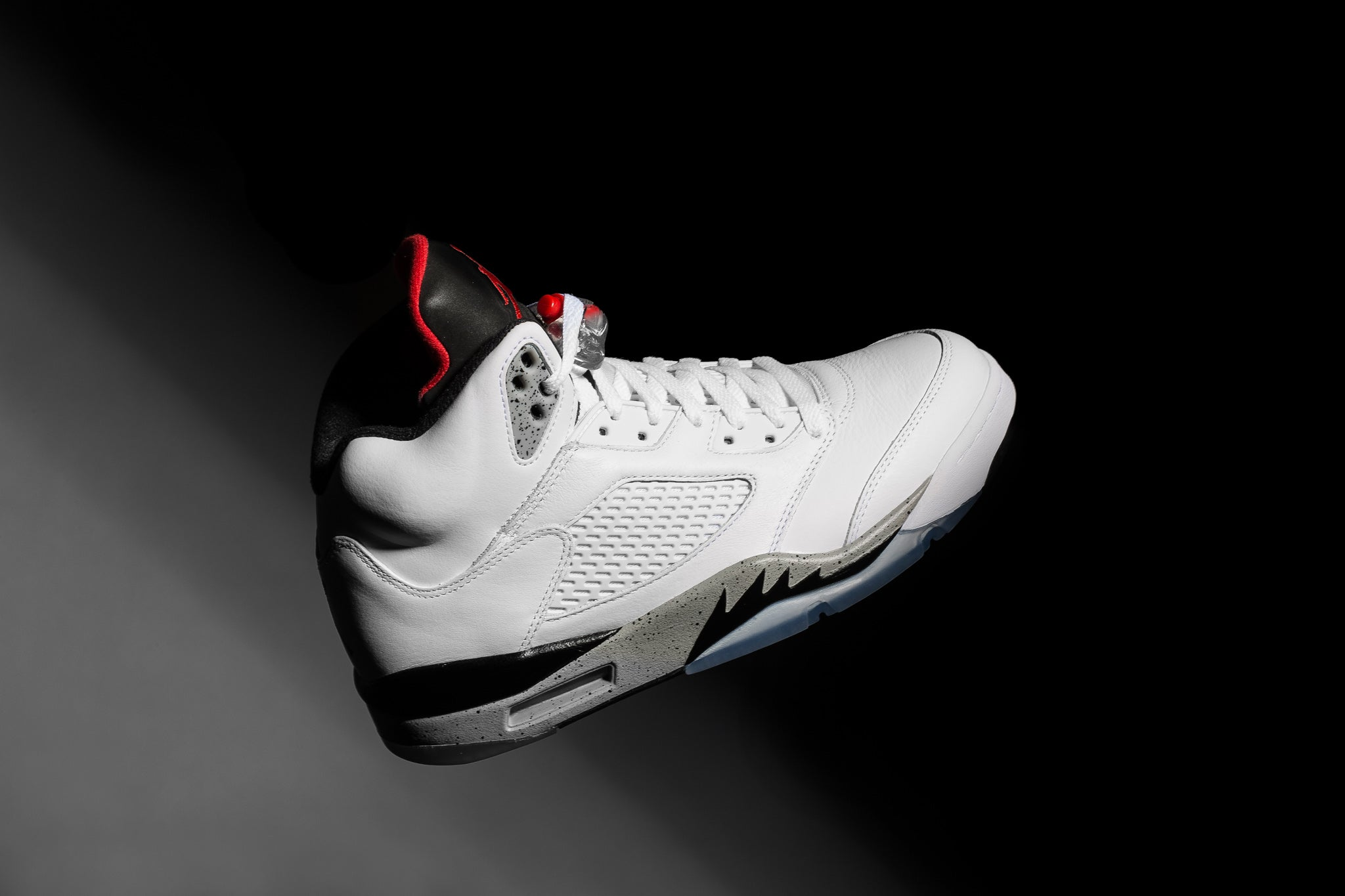 """745dfc26661 ... 4 donning the classic concrete colour scheme, it seems only natural  that the fifth entry to the legacy continue the tradition. The Air Jordan 5  Retro """" ..."""