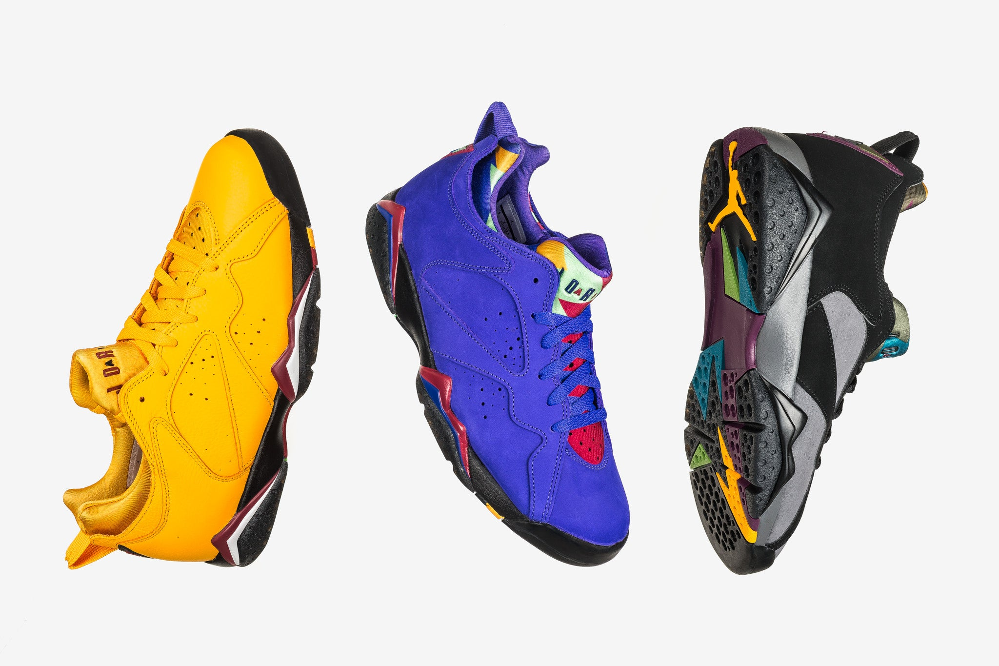 Air Jordan 7 Retro Low NRG Baseball Pack 09.27.18