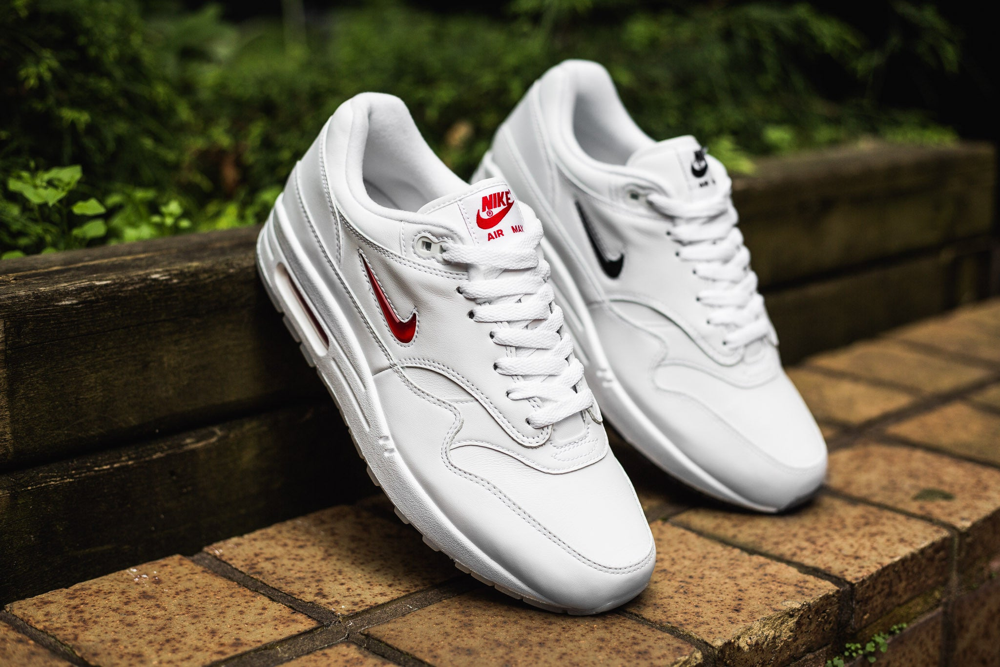 "new concept 77cb4 b7e6e Nike s Air Max 1 Premium SC doesn t just slap on the term ""premium"" for  nothing, these bejewelled beasts feature a high quality construction with a  special ..."