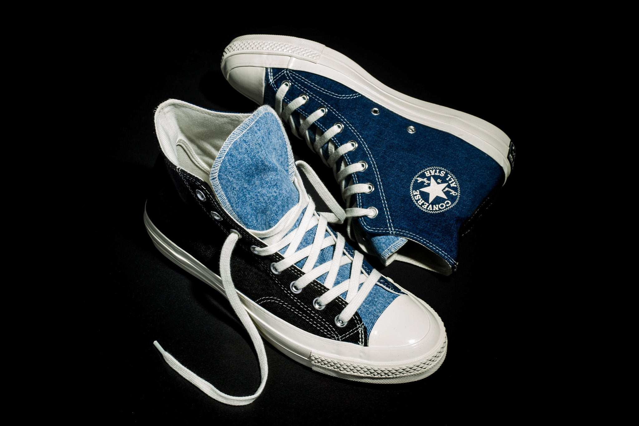 Converse Renewed Denim Tri Panel Chuck 70 Hi 10.05.19