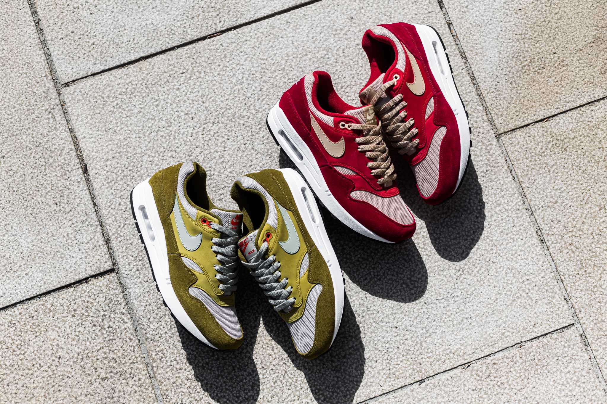 premium selection 9ad48 faf51 The latest iteration of the Air Max 1 draws inspiration from the classic Air  Max 1 Curry from 2003. 15 years later Nike repurposes the original opting  to ...