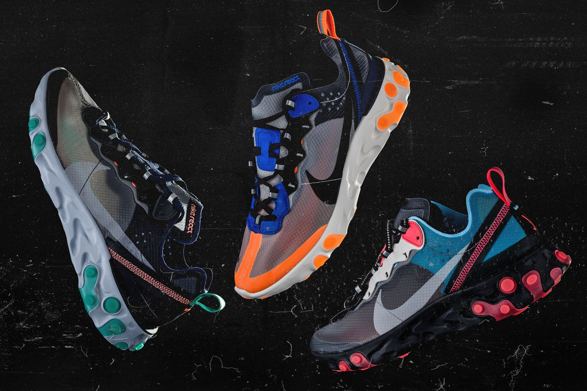 Nike React Element 87 Collection 10.11.18