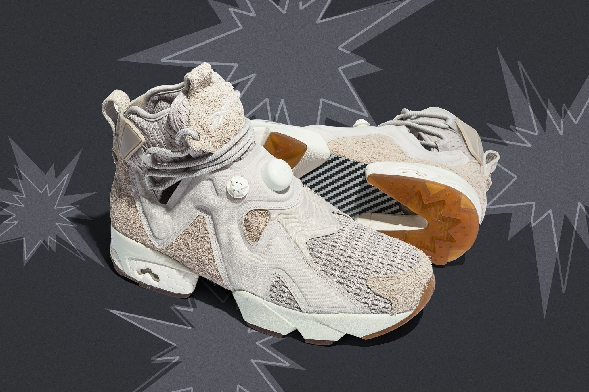 f6287cf88 Reebok in collaboration with rapper, artist and musician Future drops a new  furylite high-top profile. The Furikaze features a rough cut hairy suede  upper ...