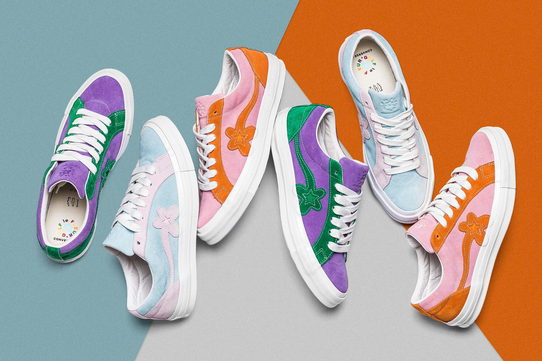 Converse GOLF le FLEUR* 'Two Tone' Collection