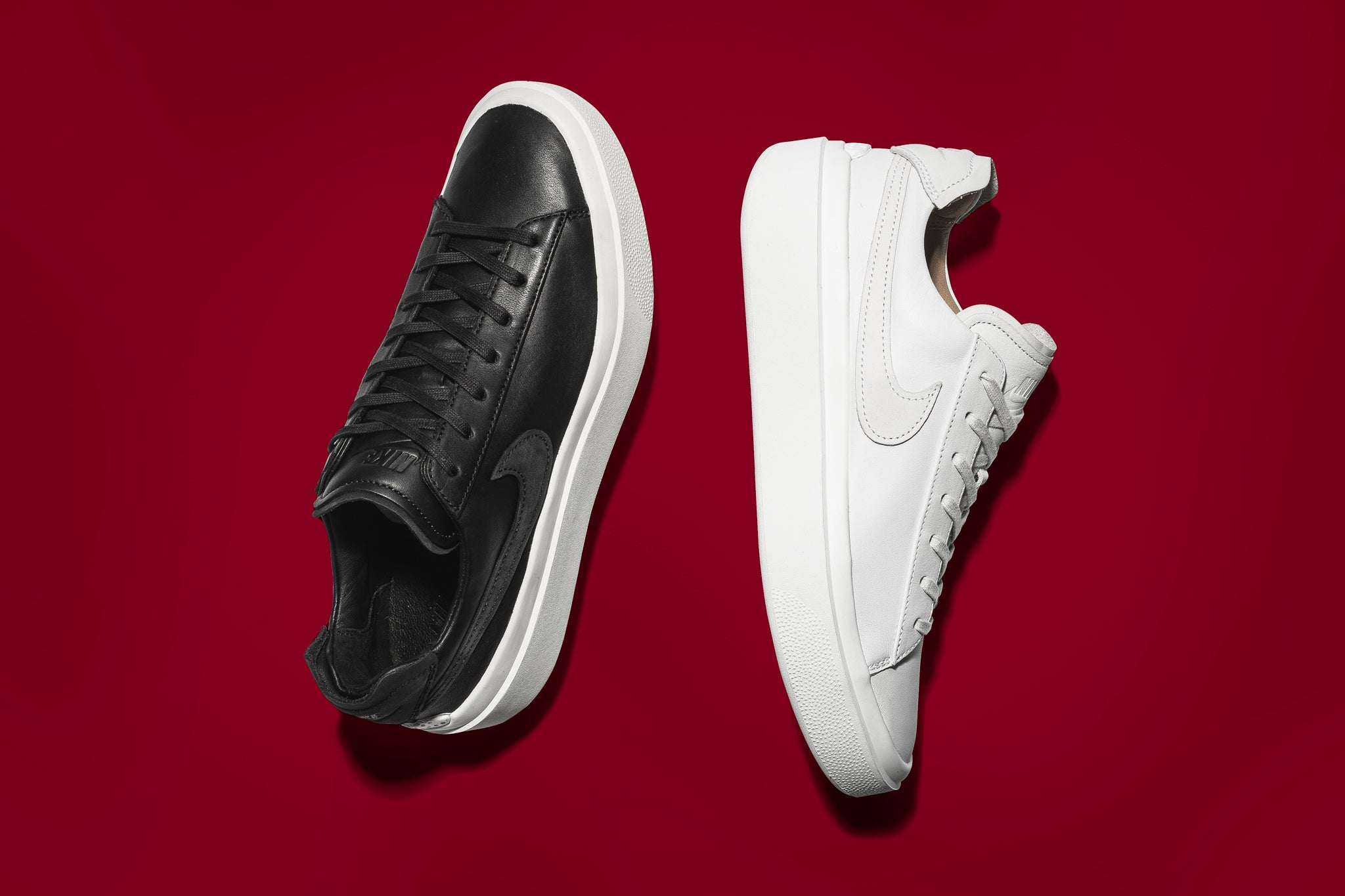 pretty nice 3b6dd 92172 Nikelab s presents a brand new silhouette, the Grand Volee, a new low top  platform model to the mix with quality materials to back up this bold  design.