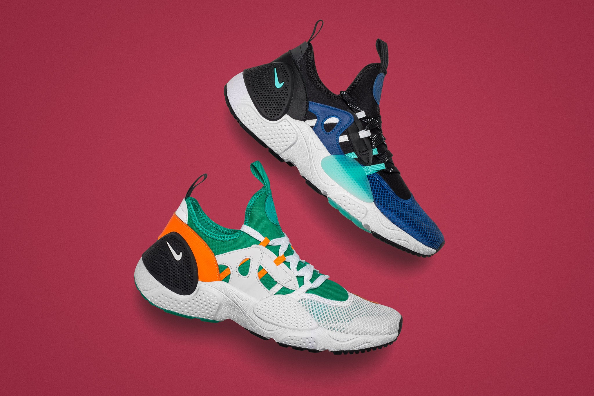 e78c980bc23 The Nike Huarache E.D.G.E. TXT QS is a reworked style of the classic  Huarache model
