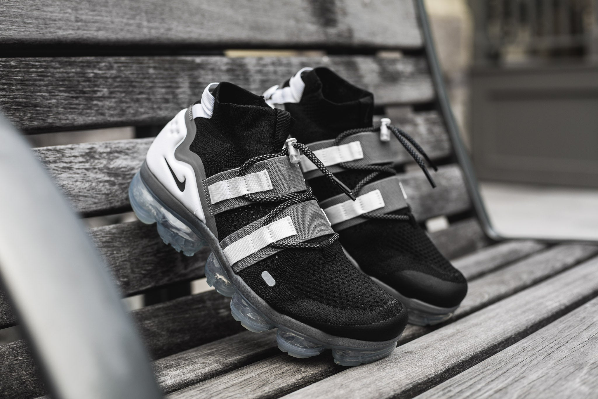 ce3937158cd ... top quality nike air vapormax flyknit utility black grey 08.02.18 5047c  126af
