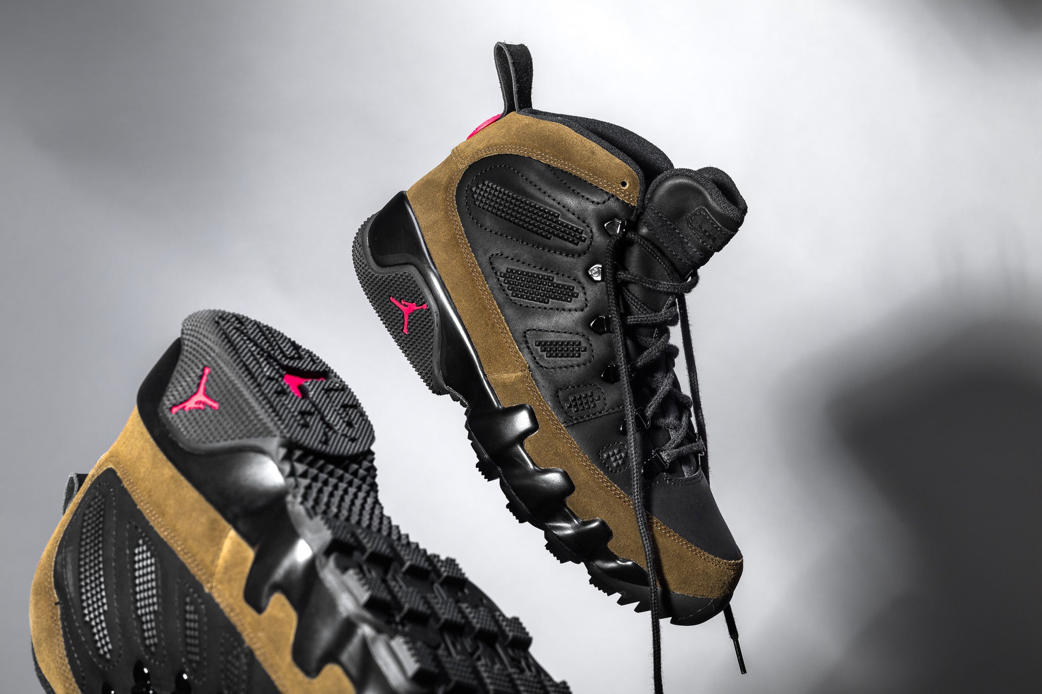 The Air Jordan 9 Retro Boot NRG revisits the hard court classic for a  winterized upgrade that s worthy of the harshest winters in the city. 9415913e8