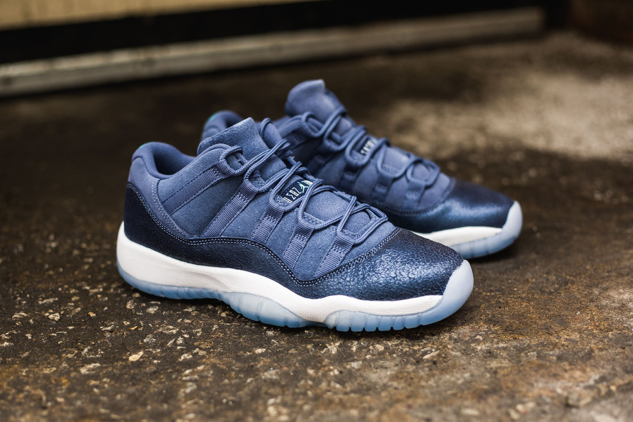 "hot sale online 7be00 aeb08 Further release info will be posted in the near future and sorry for the  inconvenience. The Air Jordan 11 Retro Low GG ""Blue Moon"" remixes the low  ..."