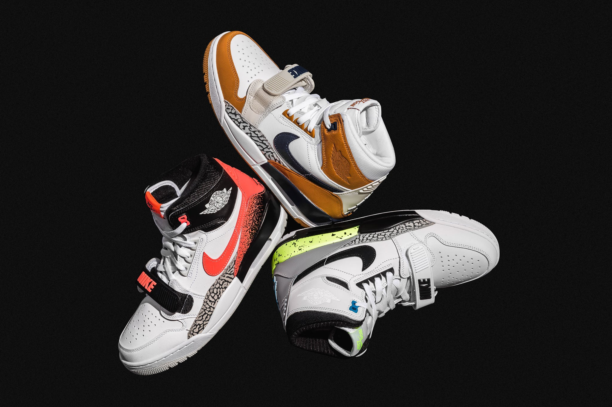 bfaf3a16d76d Don C s Air Jordan Legacy 312 NRG draws inspiration from a few iconic nike  silhouettes from the 90s with borrowed designed features from the Air Jordan  1