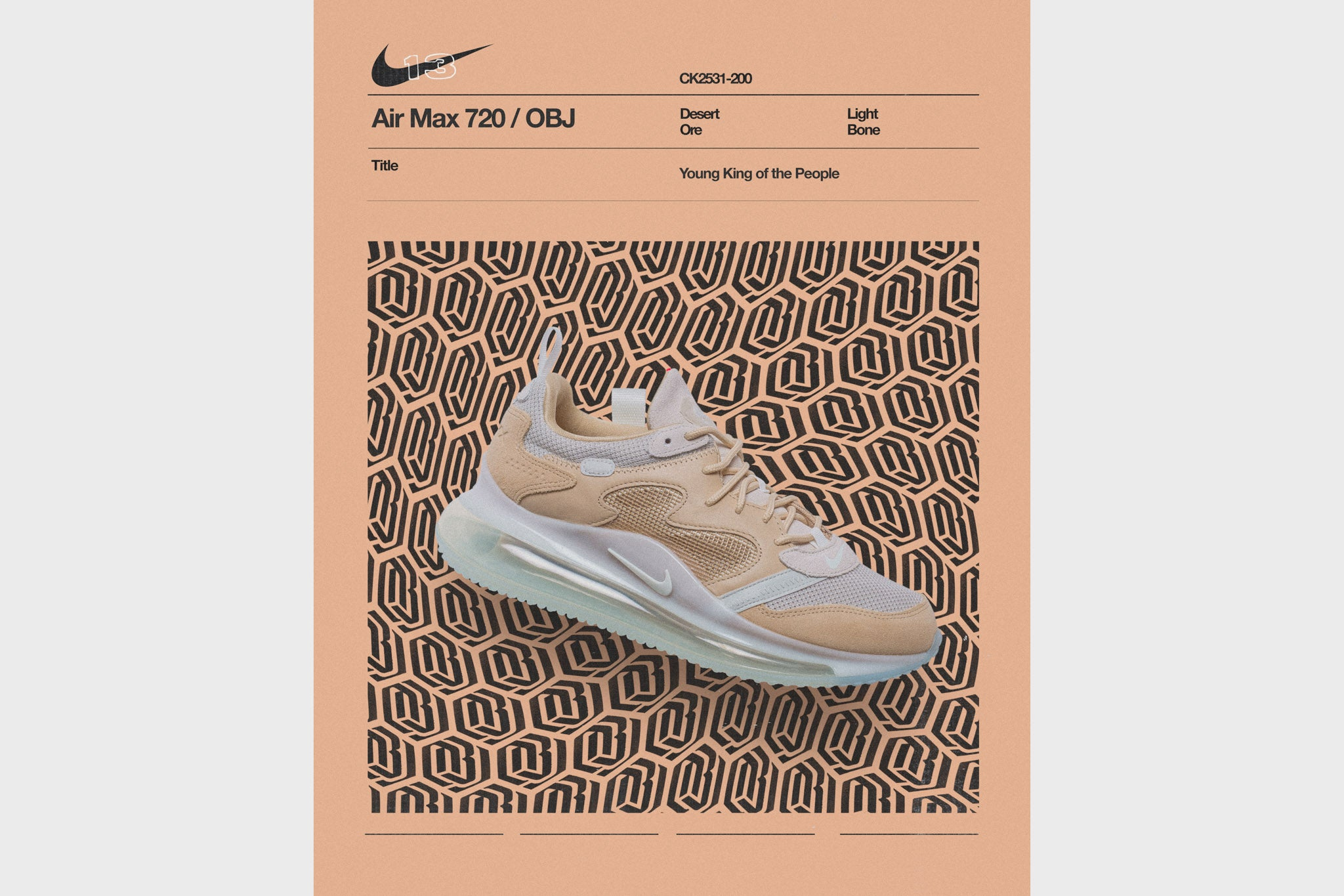 Nike Air Max 720 OBJ Young King Of The People CK2531 200