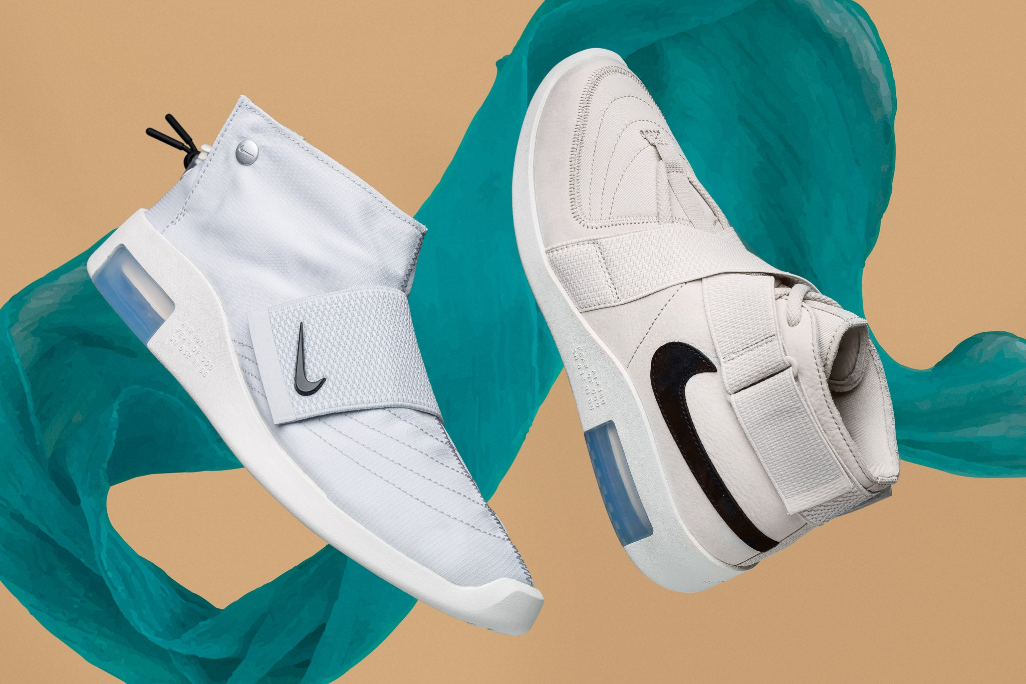 sports shoes 81967 ffb38 Fear Of God founder Jerry Lorenzo offers us a high-end take on his footwear  favourite, the 1993 Nike Air Raid that reflect Jerry s designer tastes  interbred ...