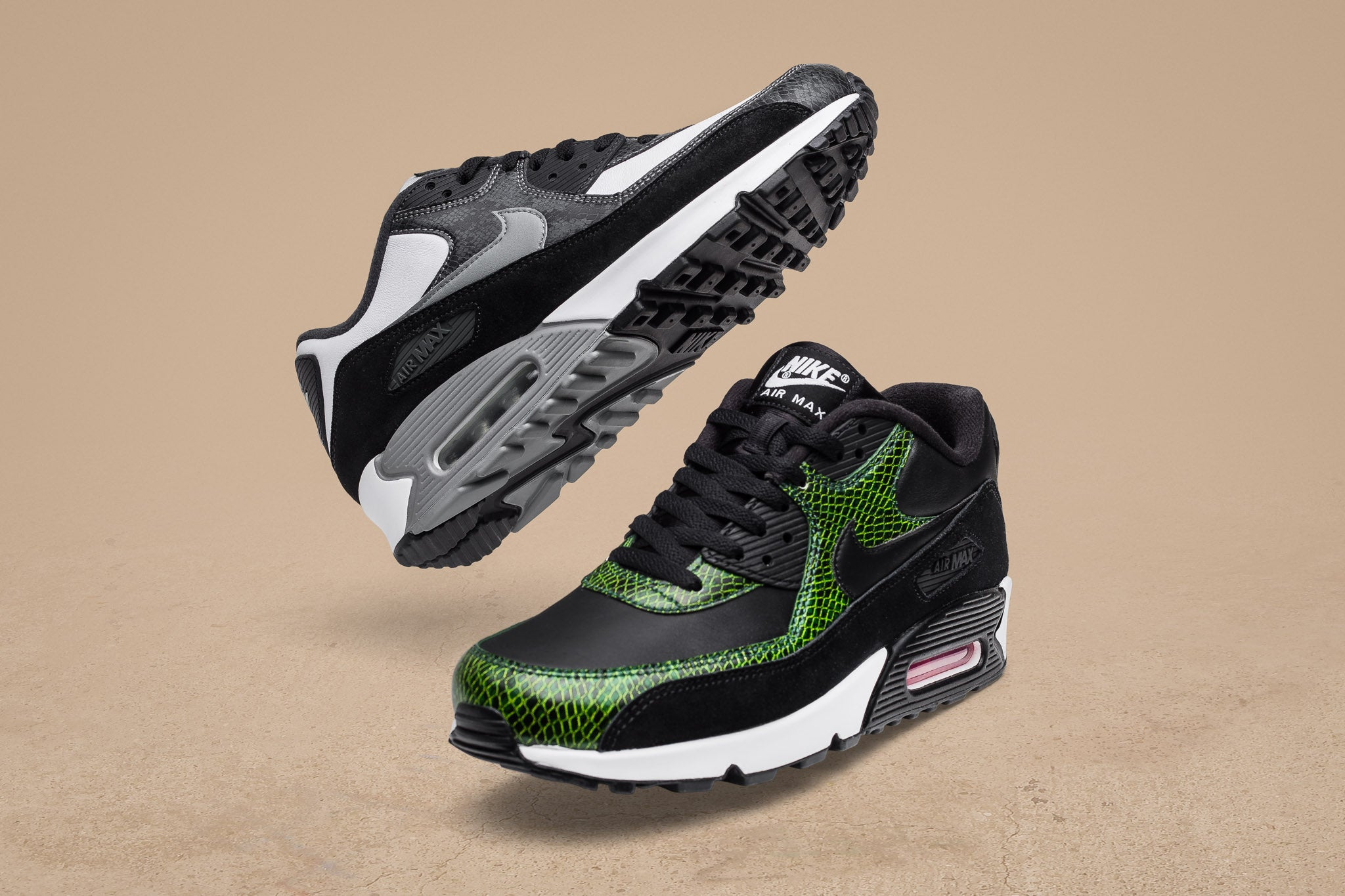 "new style 8b646 6f560 The Air Max 90 QS ""Python"" sneaks in before the 30th anniversary  celebration of the iconic silhouette. Ever since its drop in 2002,  Python   has remained ..."