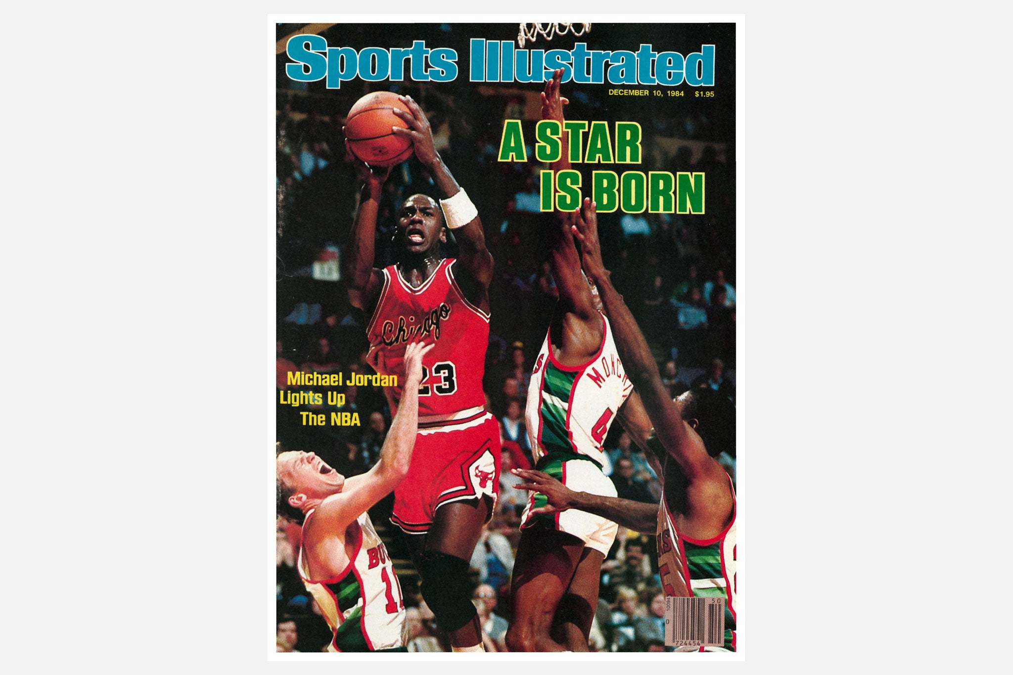 The Air Jordan 1 High OG A Star Is Born Celebrates One Of Mikes First Appearances On Front Page Namely 1984 Sports Illustrated Issue With