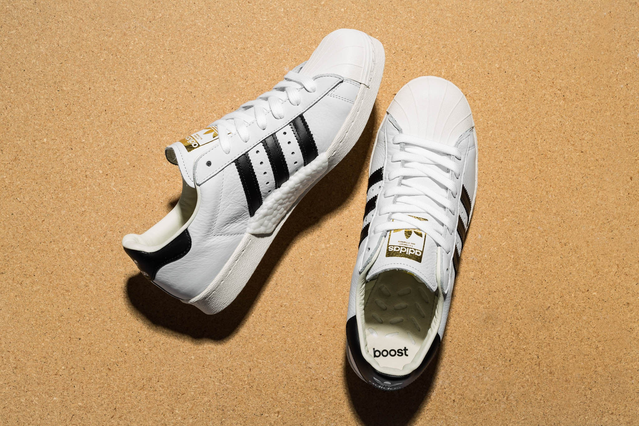 02a00c7bfc Launched in 1970 as a revolutionary basketball performance style, the adidas  Superstar shoe was the sport's first all-leather sneaker.