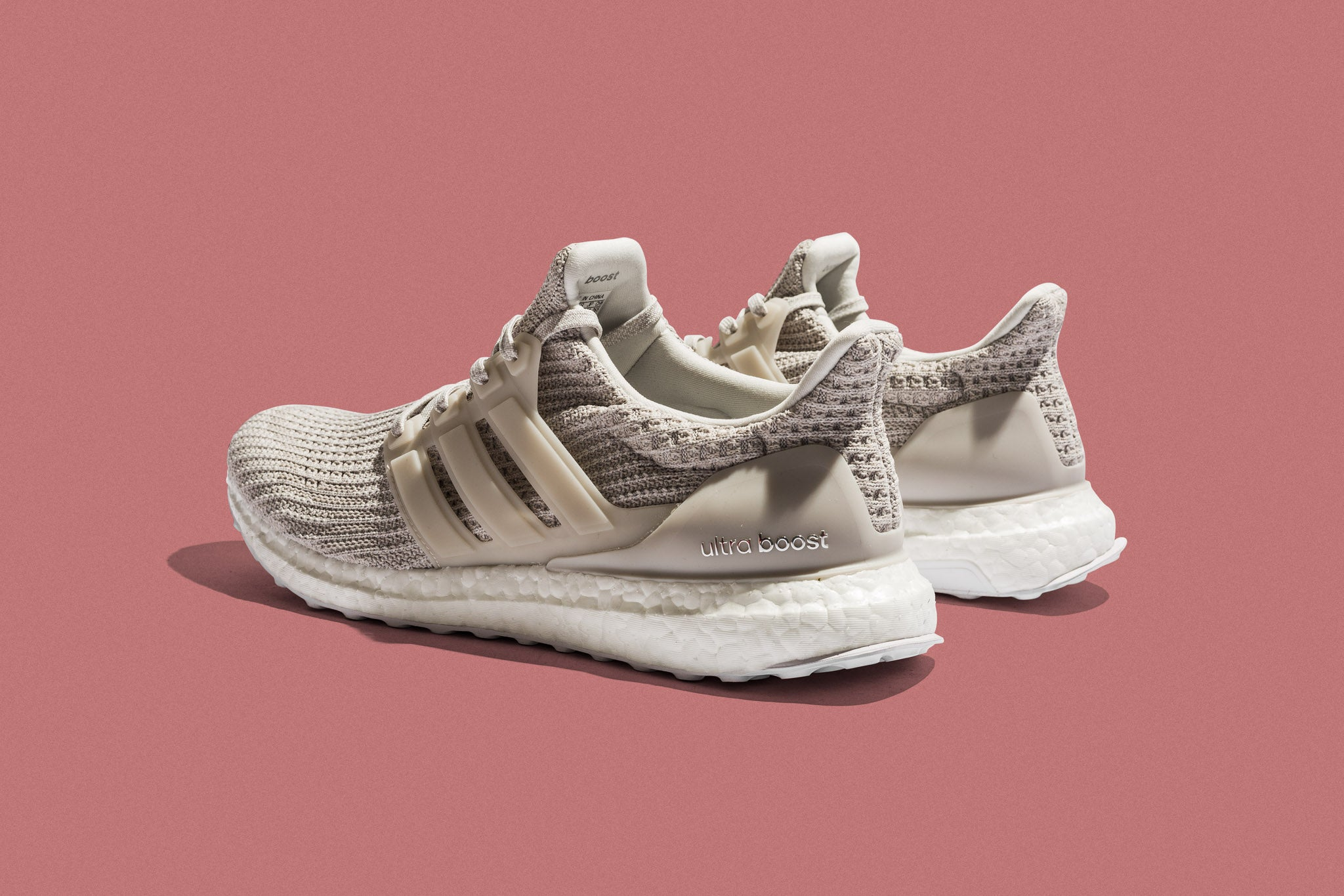 "5c67fdc4c The adidas Ultraboost 4.0 ""Cream"" brings back the chalk white hues to a  newer boost edition. Adaptive Primeknit hugs the foot with targeted  lockdown from ..."