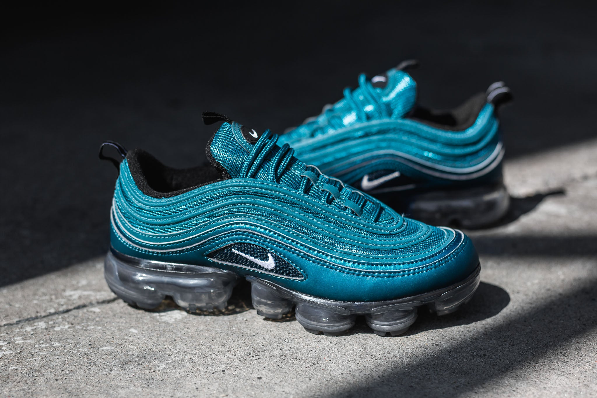 newest f4514 8a05b Women's Air Vapormax 97 'Metallic Dark Sea' 05.24.18 ...
