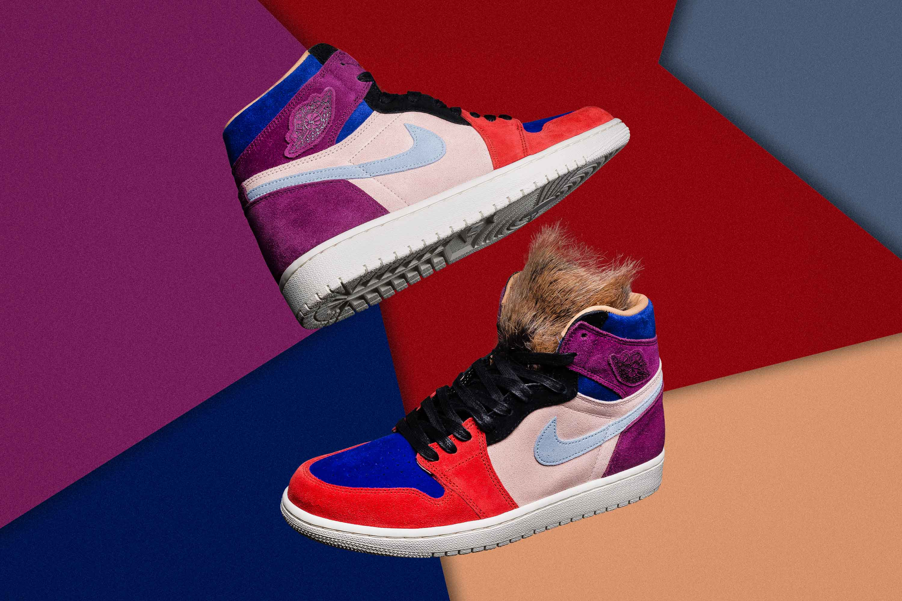 Basketball superstar Maya Moore and renowned stylist Aleali May come  together to create a women s-exclusive Air Jordan collection inclusive of  their ... ebdd257fa
