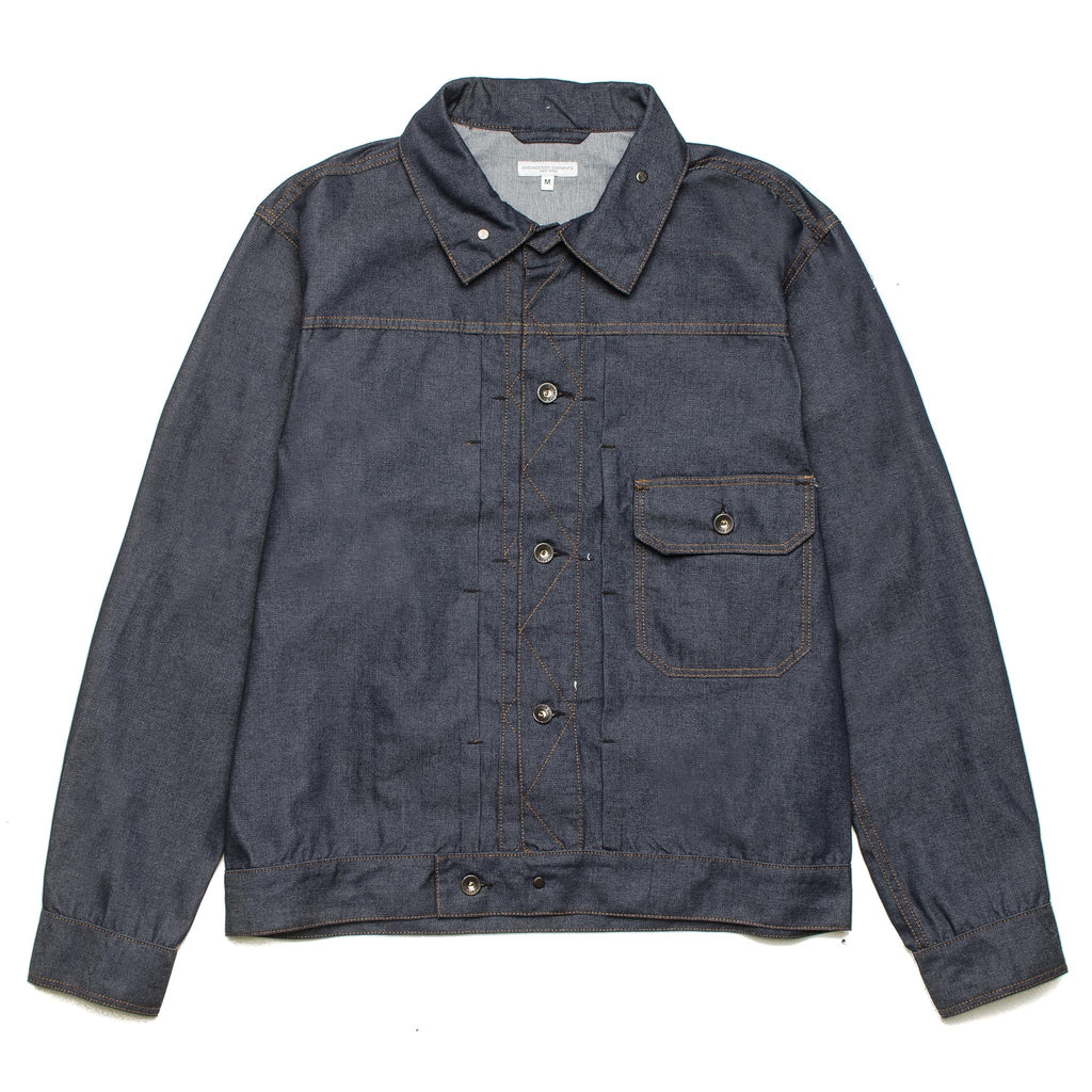 Trucker Jacket Indigo PC Denim 20S1D007 ZT082