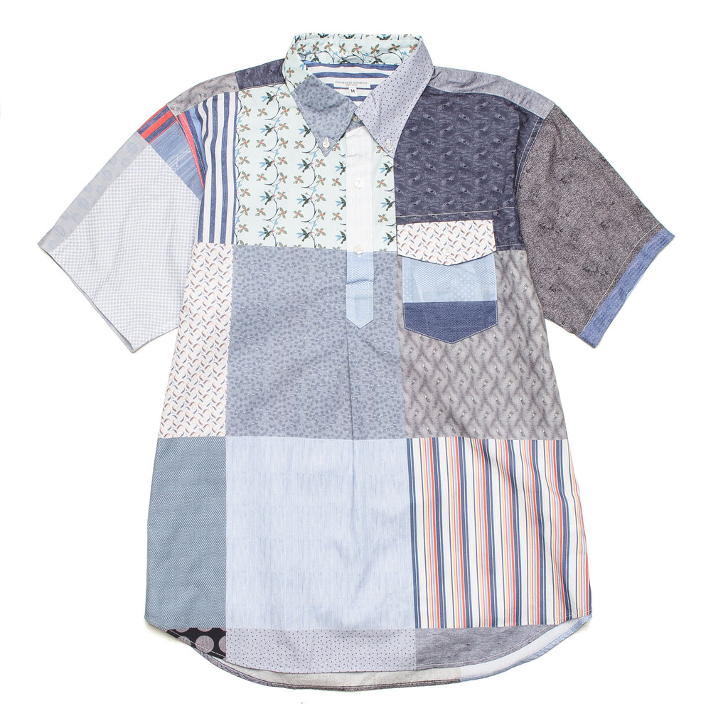Popover BD SS Shirt Patchwork 20S1A003 PF001
