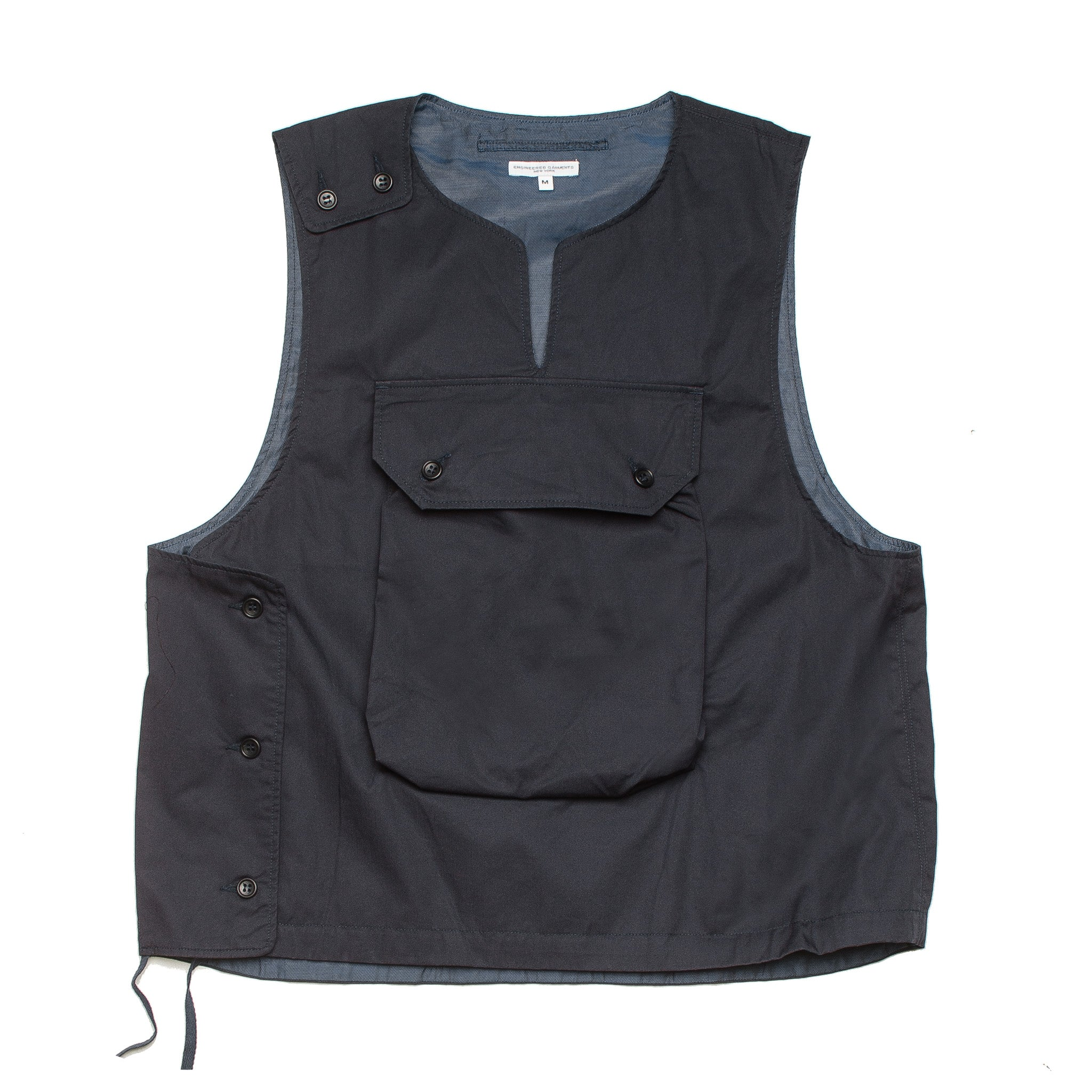 Cover Vest Highcount Twill 20S1C003 PB002 Navy