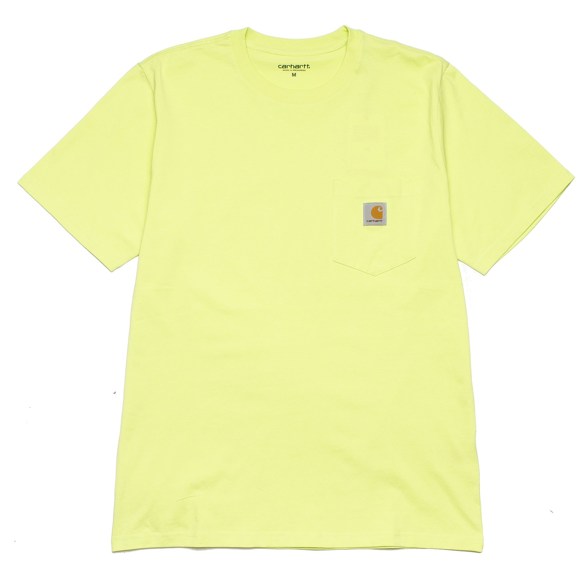 S/S Pocket Tee I022091 Lime