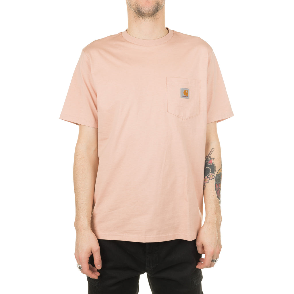 S/S Pocket Tee I022091 Powdery Pink