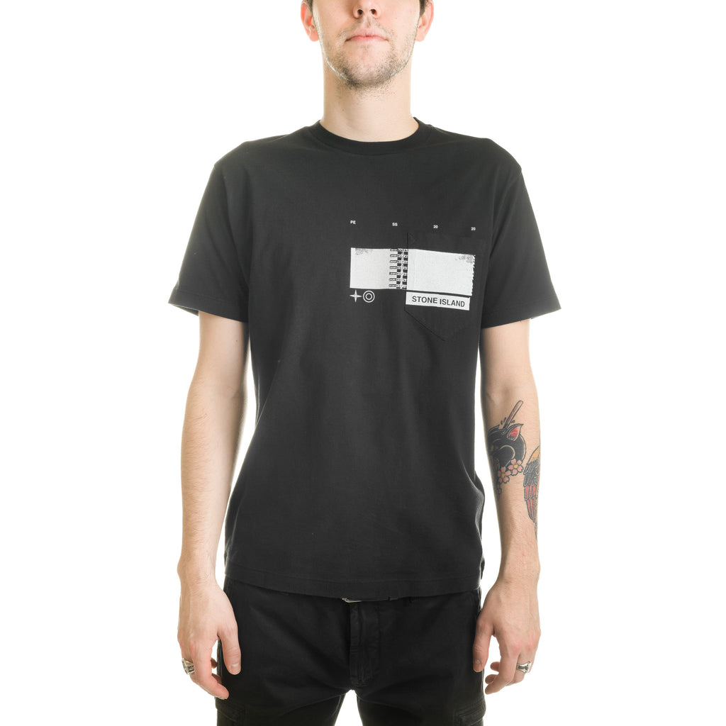 Drone Three S/S Tee 721524685 Black