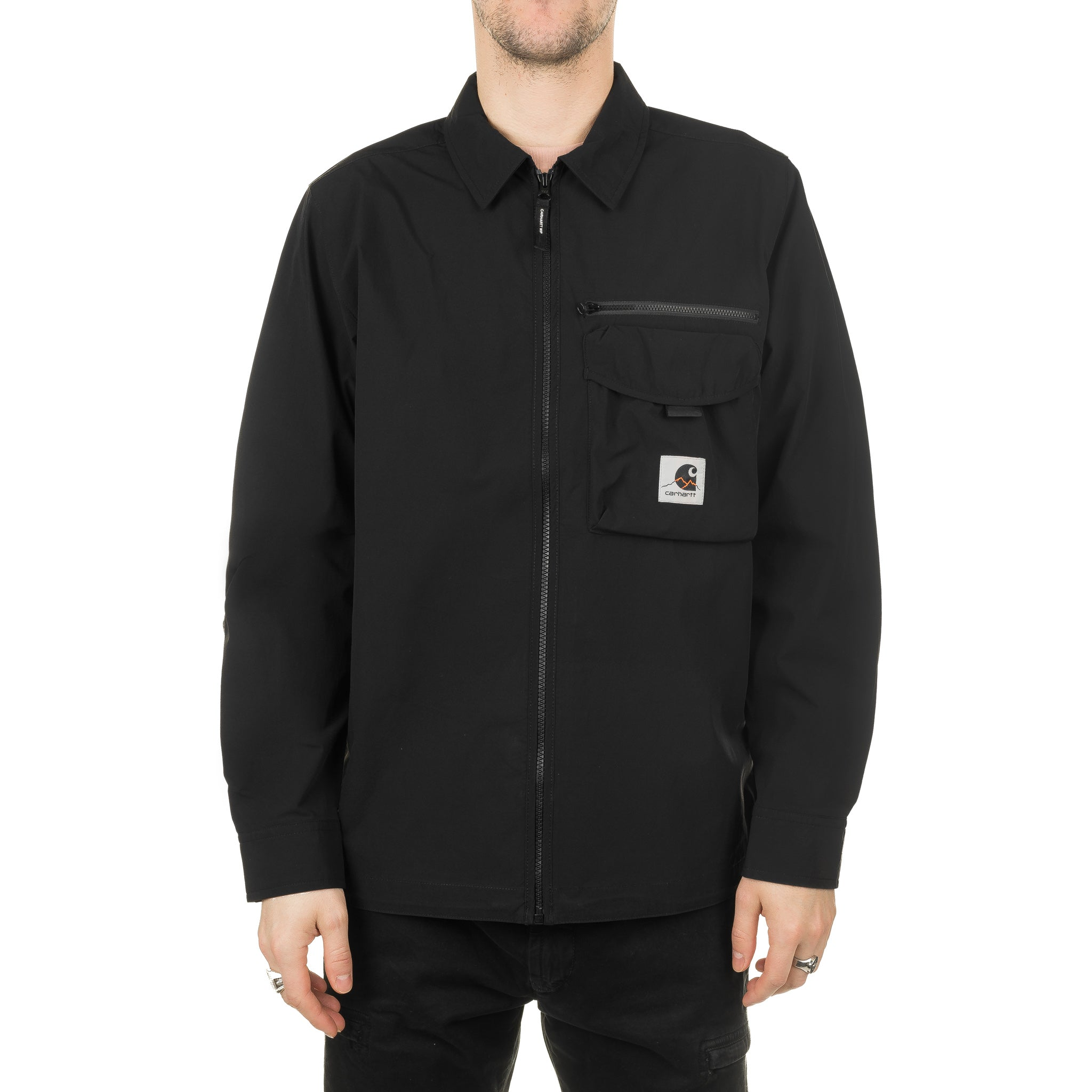 Hayes Shirt Jacket I027509 Black