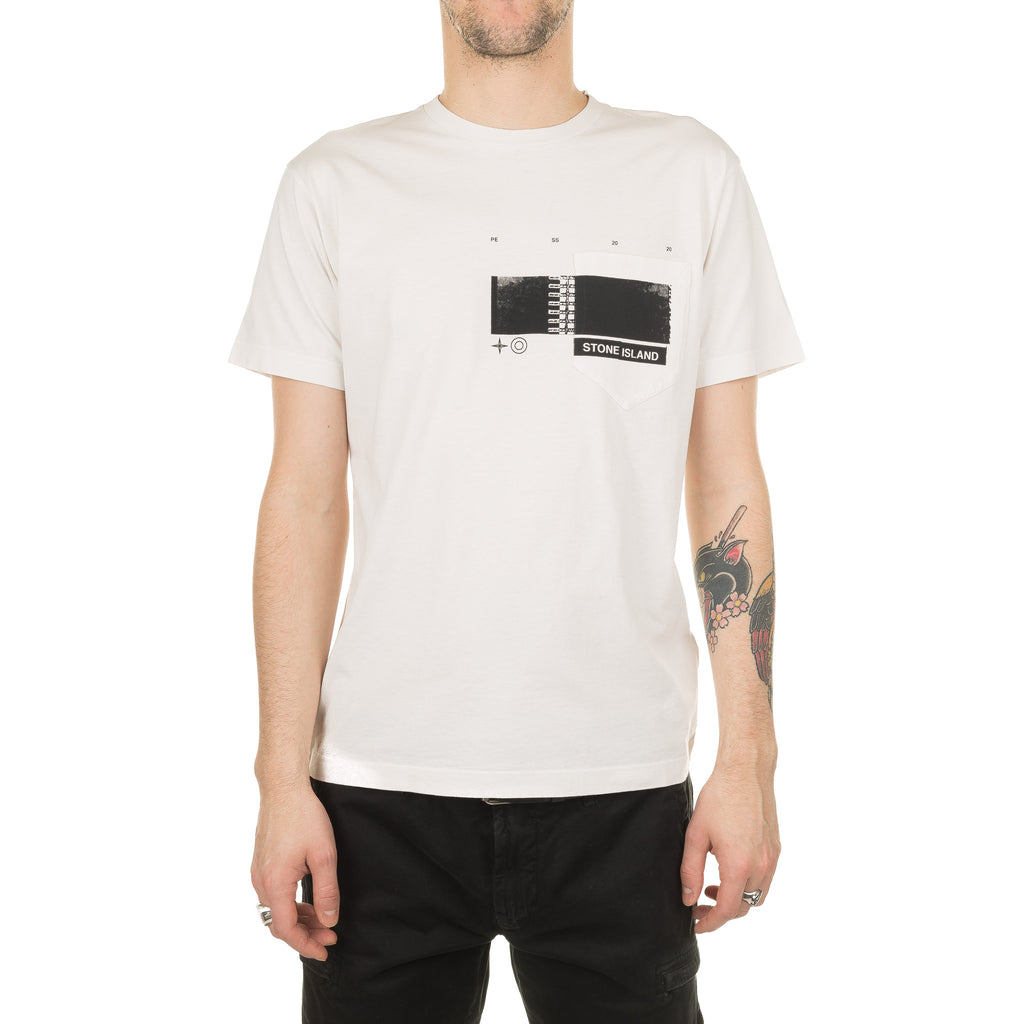 Drone Three S/S Tee 721524685 Cream