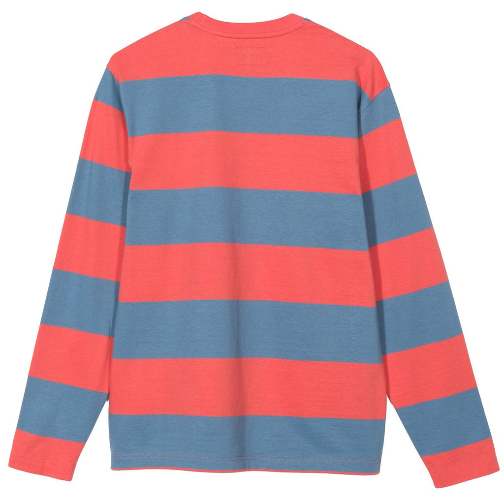 Bold Stripe LS Crew 1140173 Orange