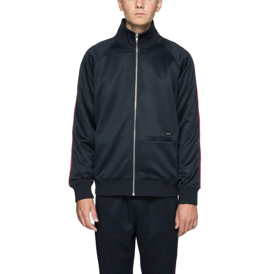 Poly Track Jacket Navy