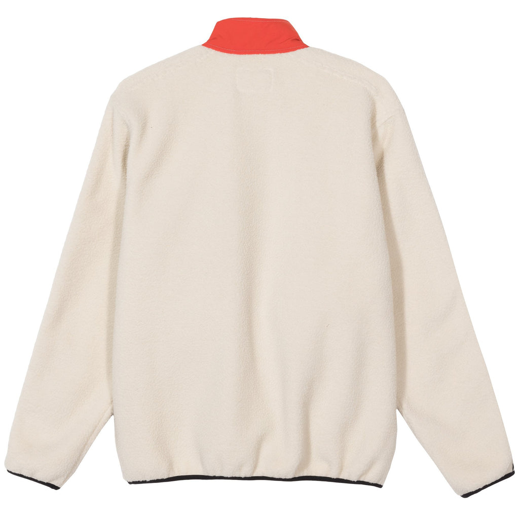 Nylon Mock Neck 118349 Cream