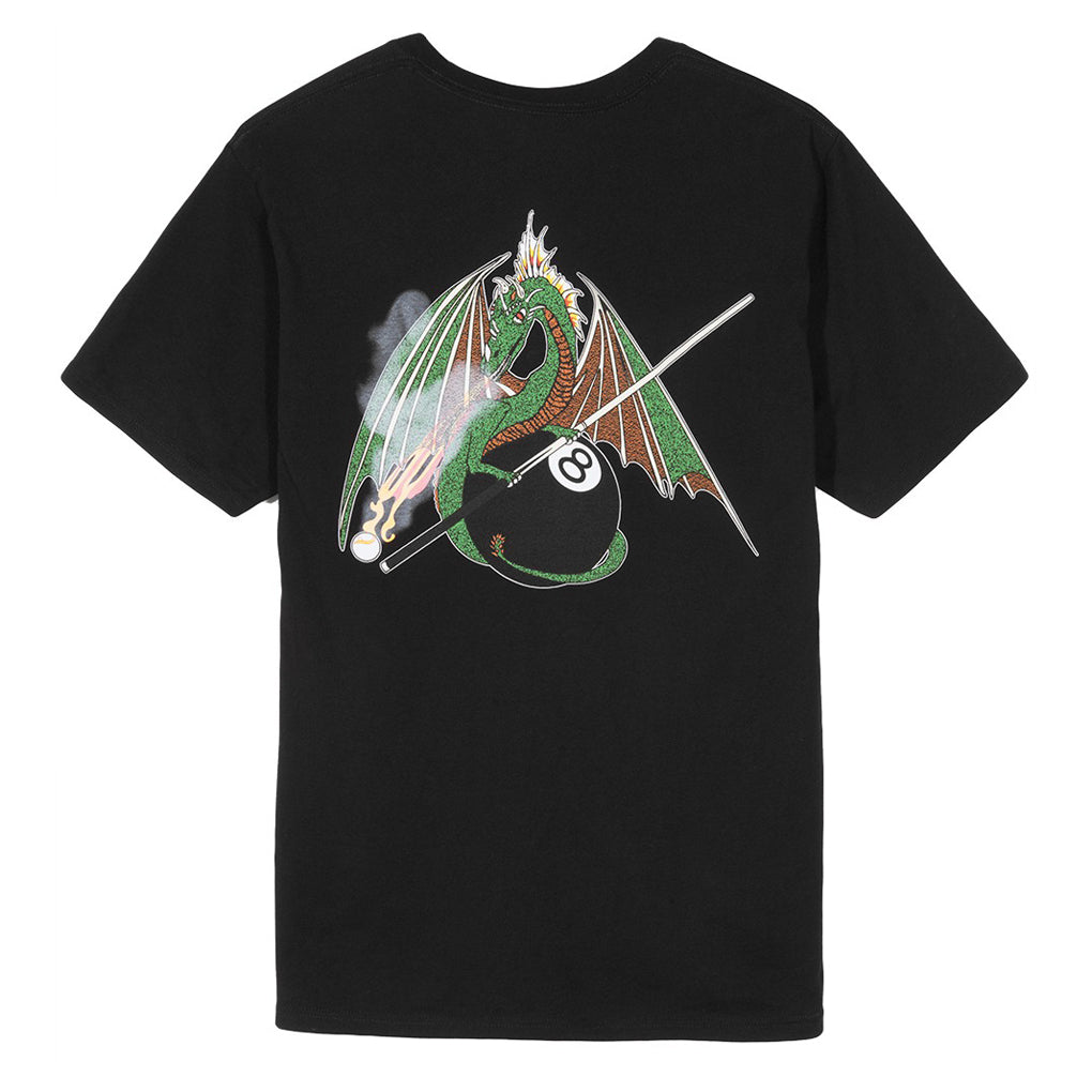 Pool Dragon Tee Black